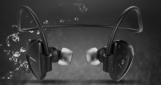 Športové Bluetooth slúchadlá za uši Awei A840BL.