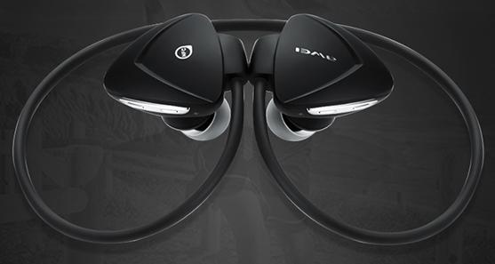 Slúchadlá za uši bezdrôtová na behanie Awei A840bl