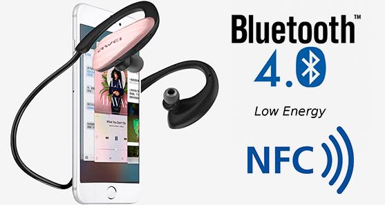 Awei A885BL slúchadlá s NFC a Bluetooth 4.0