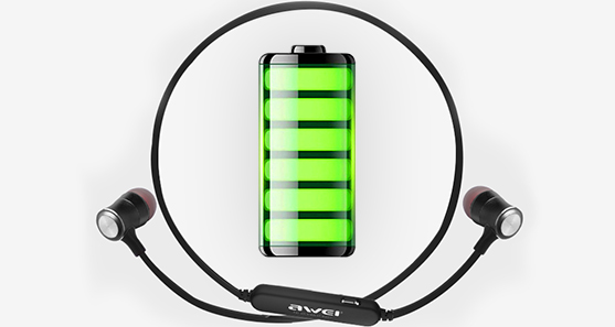 Awei A921BL bezdrôtové slúchadlá s veľkou batériou