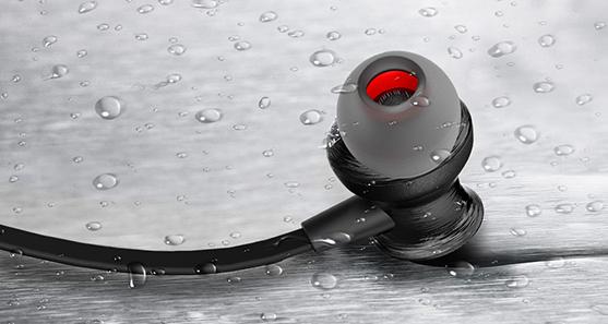 Awei a980bl potu a vode odolné slúchadlá na šport bezdrôtová
