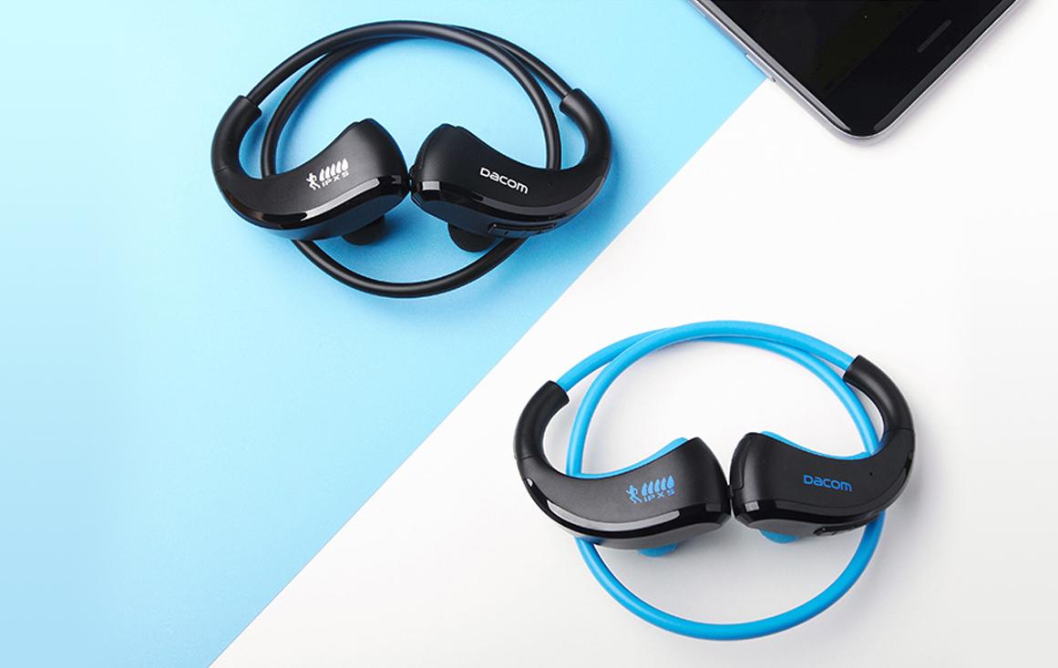 Dacom-Armor-fitnes-sluchatka pred-cierna-alebo-modra-bezdrôtovo