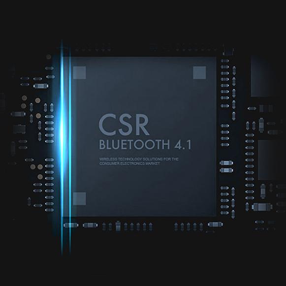 Bluetooth 4.1 slúchadlá Dacom Athlete majú nízku energetickú náročnosť, kvalitné CSR čip a znčkovou Mitsubishi anténu.