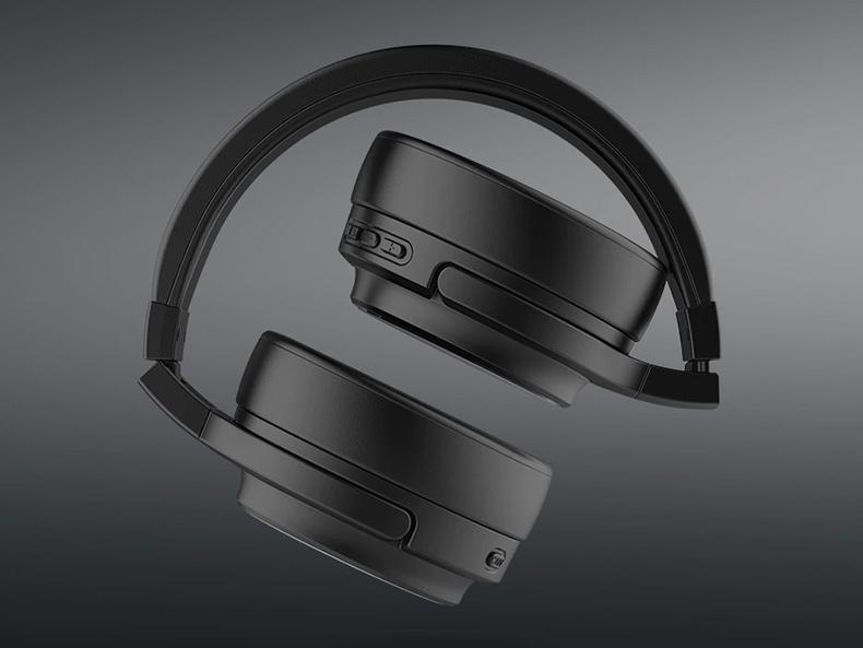 Ultra kompaktná prenosné slúchadlá cez hlavu Awei A950BL.