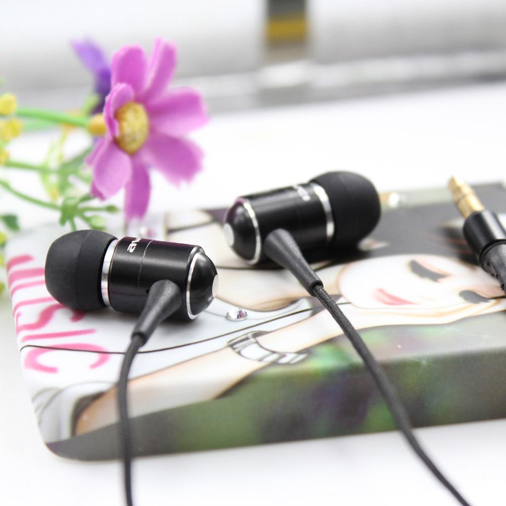 Pekné čierne špunty do uší kôstky Awei ES Q3