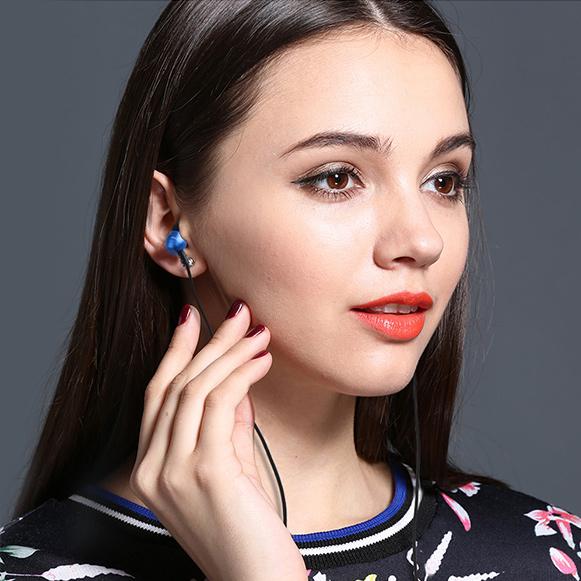 Lacná mini slúchadlá do uší Awei ES Q8