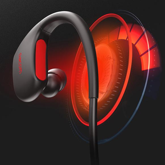 Silné basy skvelý dynamický zvuk - bezdrôtové slúchadlá Dacom Athlete L05.