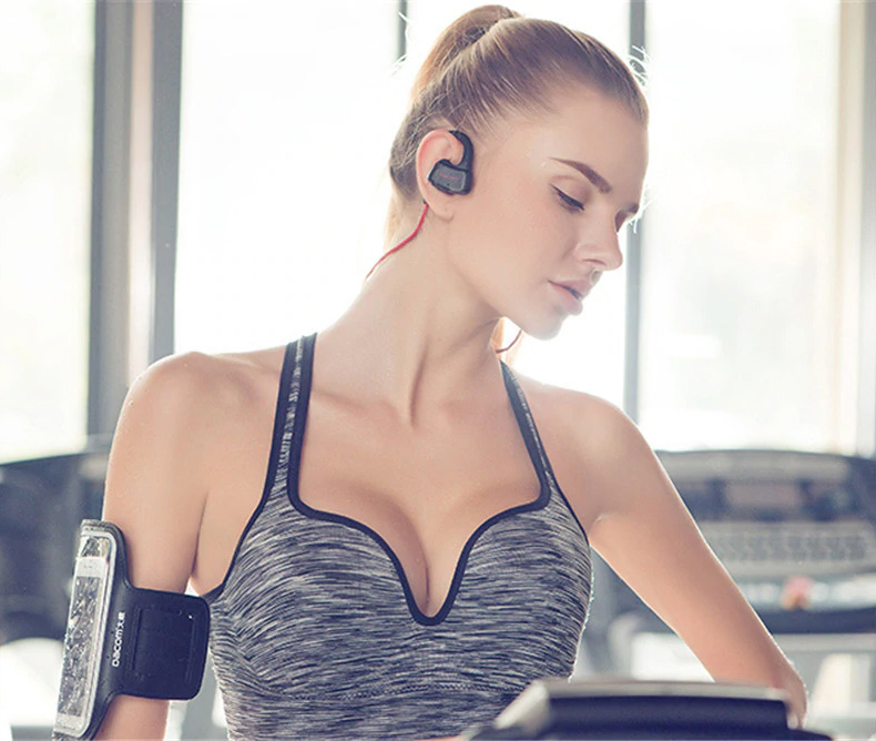 Bezdrôtová Bluetooth slúchadlá dámska pre ženy dievčatá.