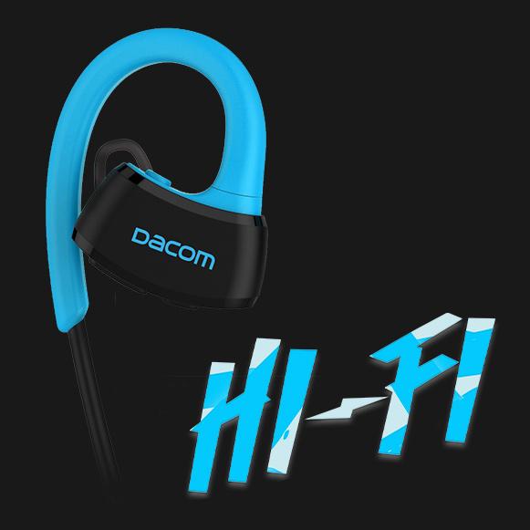 Hifi dobre hrajúci bezdrôtové slúchadlá za uši vodotesná.