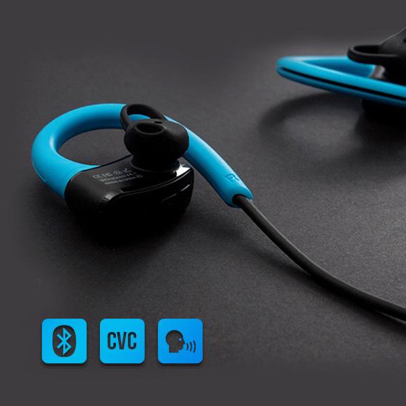 Bluetooth 4.1 slúchadlá s mikrofónom a CVC 6 filtráciou hluku.  Vybavená hlasovým sprievodcom.