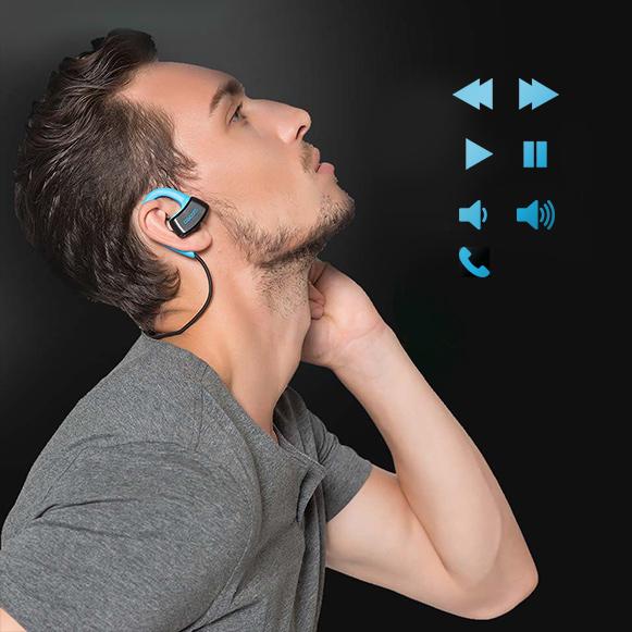 Slúchadlá s pokročilými funkciami - prepínanie pesničiek, ovládanie hlasitosti a mikrofónom.