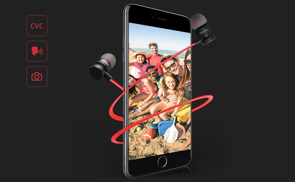 Šikovná bezdrôtové slúchadlá Ipipoo IL93BL ktorá Vás vie aj na diaľku vyfotiť