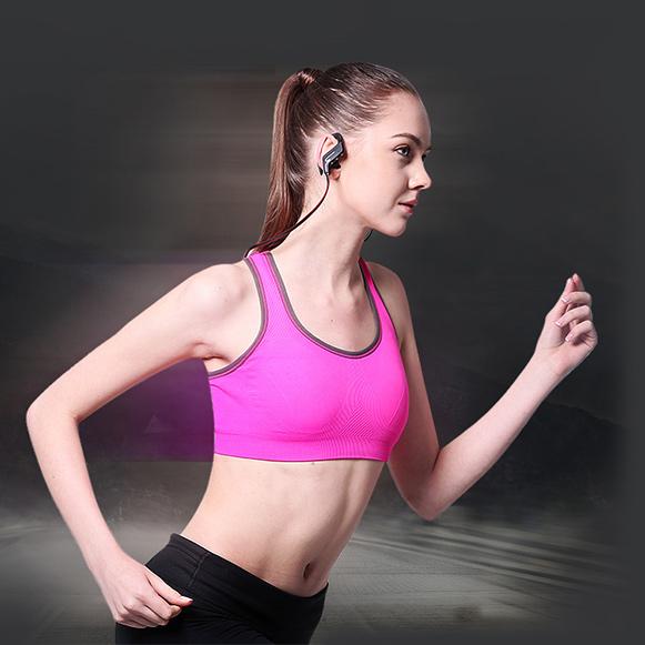 Ideálna bezdrôtová Bluetooth slúchadlá pre športovcov.