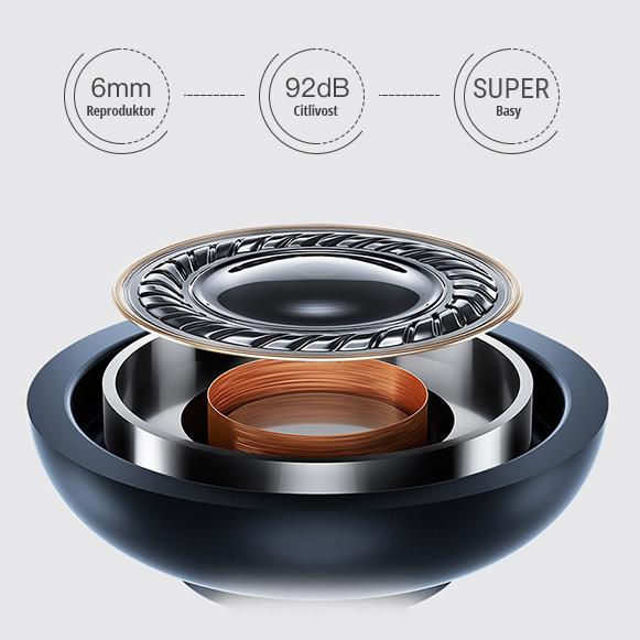 Bezdrôtové slúchadlá s kvalitným zvukom a super bassy - Awei AK7.