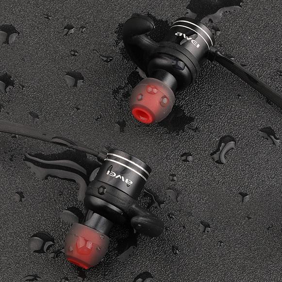 Ideálna bezdrôtová športové slúchadlá na bicykel do uší, vodeodolná s IPX4.