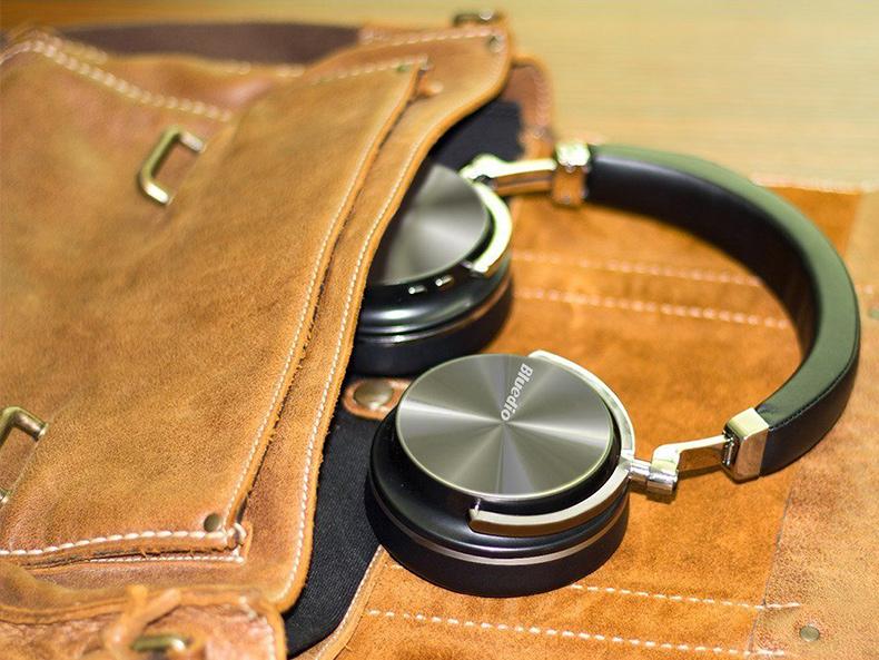 Prenosná skladacia Bluetooth bezdrôtová slúchadlá T4S Bluedio.