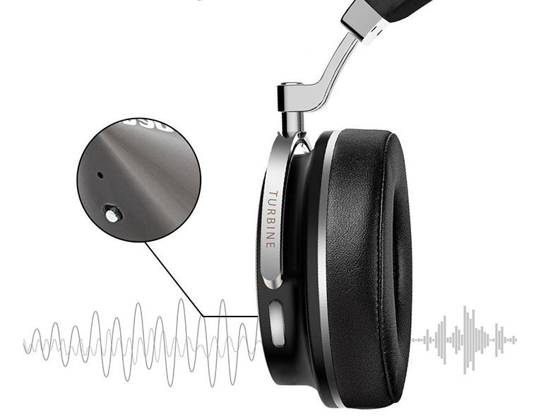 Bezdrôtové slúchadlá s ANC active noise cancellation - aktívnym potačením okolitého hluku, šumu.