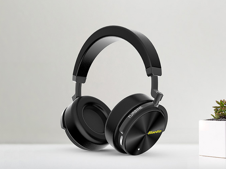 Moderni bezdrôtové slúchadlá pre kvalitné počúvanie hudby.  Bluedio T5