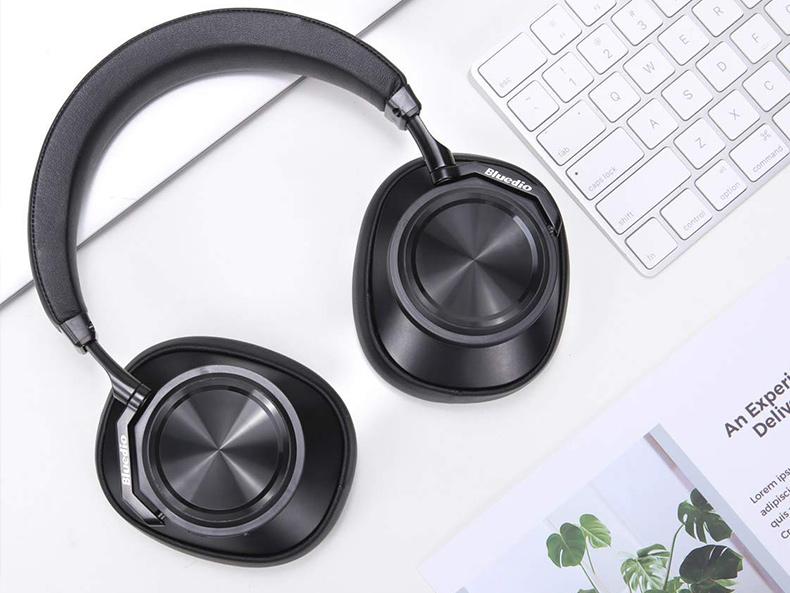 Bezdrôtová Bluetooth slúchadlá Bluedio T6 majú značkovú elektroniku, značkový čipset zosilňovač Max97220.