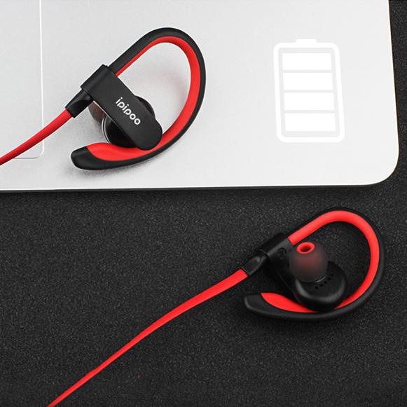 Bezdrôtové slúchadlá s dobrou výdržou batérie, lacná slúchadlá Ipipoo IL98BL.