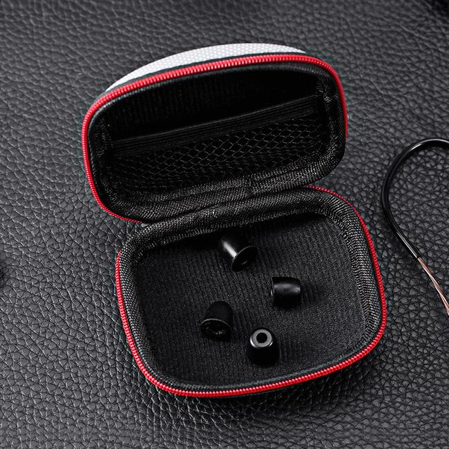 Univerzálne púzdro na malička slúchadlá do uší, iPod, mp3 prehrávače a ďalšie KZ B2.