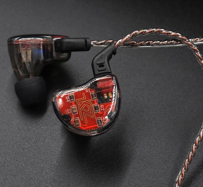 Luxusné kvalitné slúchadlá do uší so super zvukom HiFi špunty KZ ZS10.
