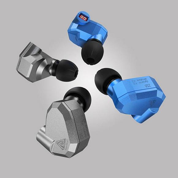 Hľadáte šedivá alebo modrá slúchadlá do uší?  Práve ste našli tie najkrajšie a najviac štýlová modrá a šedivá slúchadlá KZ ZS5.