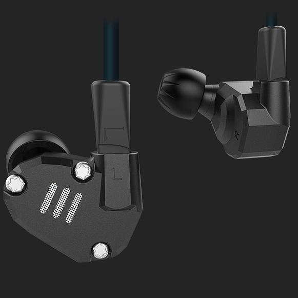 KZ ZS6 kvalitné káblové slúchadlá profesionálny hifi špunty do uší so skvelým zvukom.