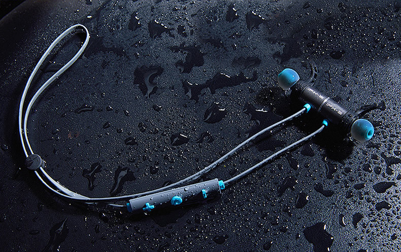 Bezdrôtová Bluetooth slúchadlá na šport s dlhou výdržou 10h Plextone BX343.