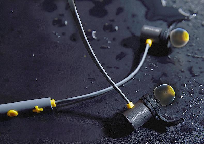 Vodotesná IPX5 slúchadlá do uší Plextone bx343 vode odolné bezdrôtové kôstky.