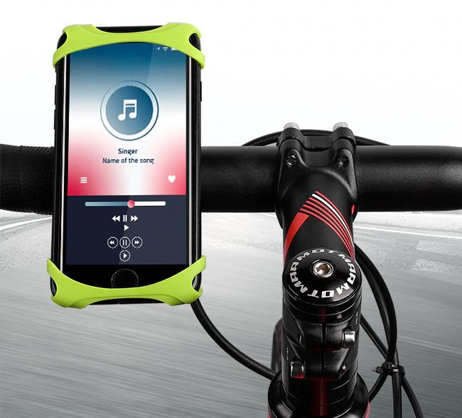 Odporučte držiak na mobil na bicykel čo sa ľahko ovláda.  West Bikin YP0715046