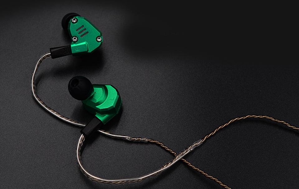 Cable a - zlepšujúce medený kábel pre sluchatka KZ 5 6 3 KZ10