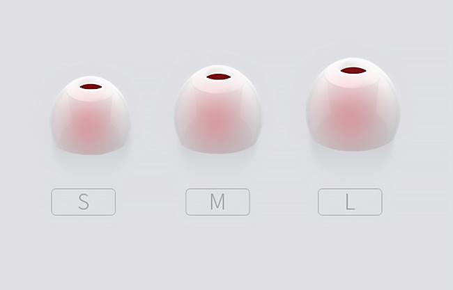 Kvalitné silikónové nástavce na slúchadlá do uší.  Náhradné špunty, vankúšikmi, silikóny Ostry OS200.