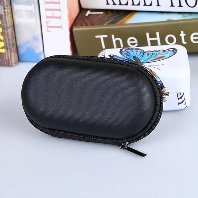 Kvalitné oválne puzdro na mini slúchadlá do uší Aiovcocie OV15.