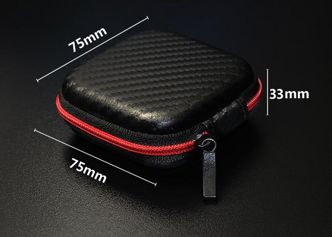 Mini malé puzdro na slúchadlá ktoré sa zmestí do vrecka, ľahké.