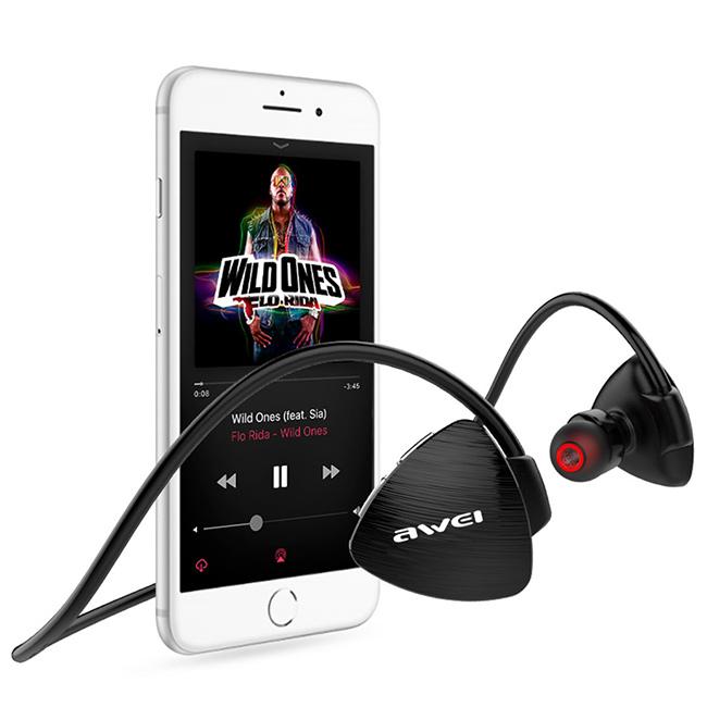 Sluchatka s dobrou vydrzi a Bluetooth 4.2 technológii Awei A847BL.