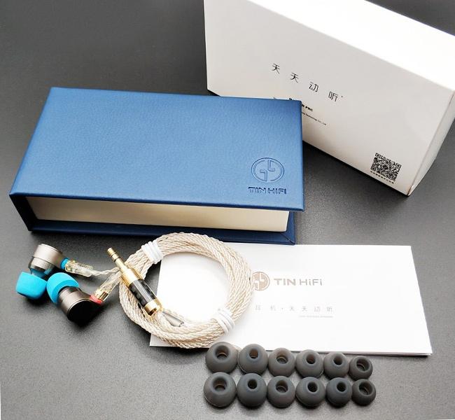 Luxusné darčekové balenie slúchadlá Tin Audio T2.