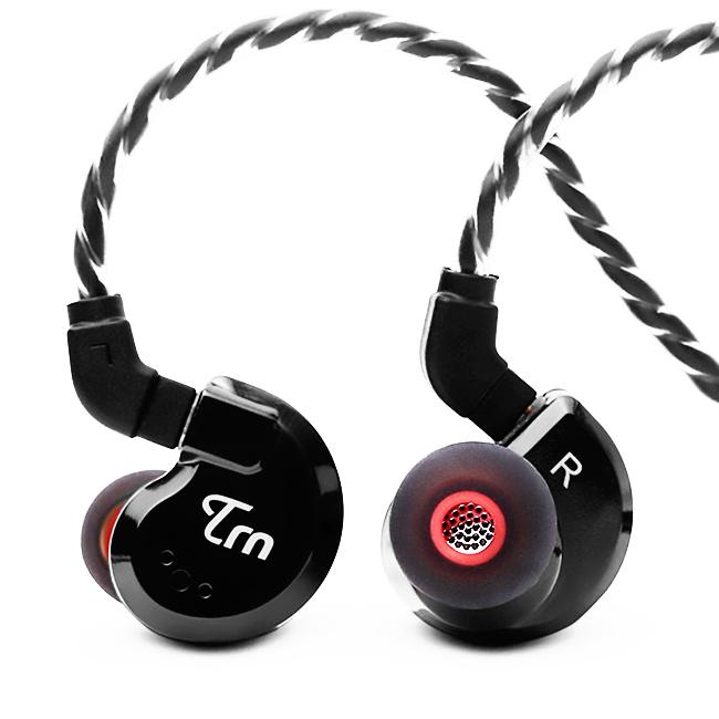 Luxusné keramická slúchadlá hliníková smaltovaná do uší Tŕň audio V80.