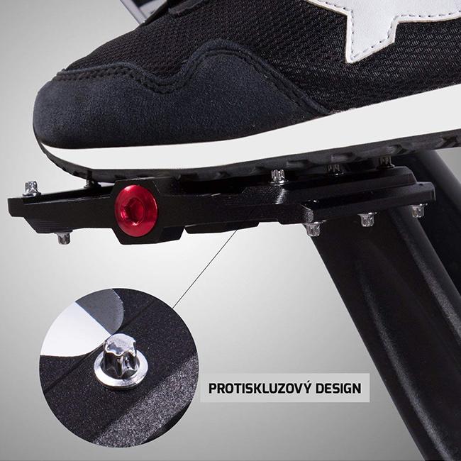 Protišmykový cyklo šlapky na bicykel pedále šliapací s hrotmi.