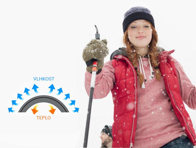 Pletená huňatá teplá zimná čiapka dámska funkčná aonijie M25.