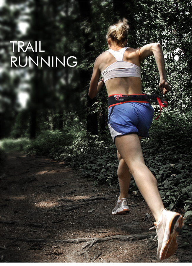 Profesionálny bežecký opasok na trail run Aonijie W938.