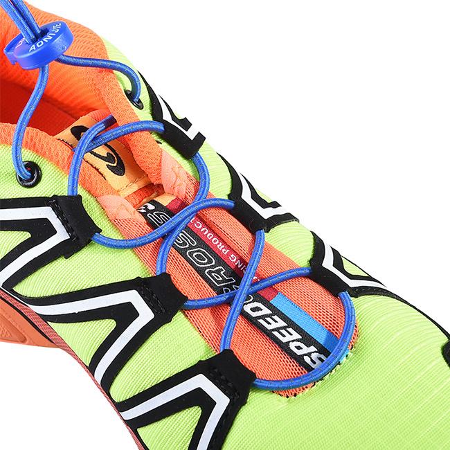 Pohodlné a zdravé šnúrky do topánok Aonijie E4055 z gumy, gumové prevedenie s elastickým vláknom.