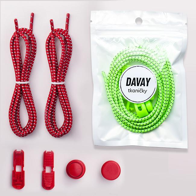 Farebné šnúrky do topánok, neónové, pestré a pružné.  Perfektné ako darček dáva EASY lácie.