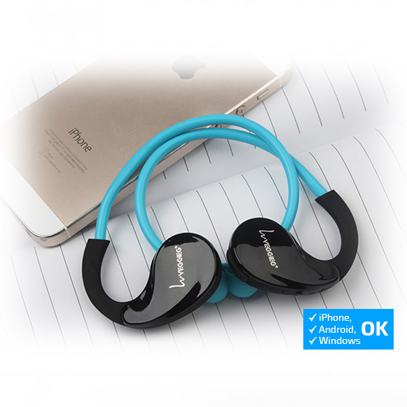 Bezdratova Bluetooth sluchátka kompatibilní s iPhone ios.