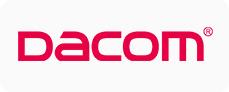 Logo firmy Dacom.